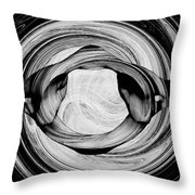 Bw Sketches Throw Pillow