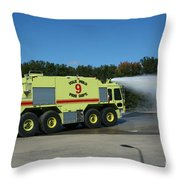 Firefighting Throw Pillow