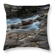Grand Falls Waterfall Throw Pillow