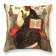 Jesus Christ Lord Savior Throw Pillow