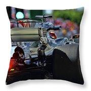 Lewis Hamilton  Throw Pillow