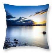 T C Landscape Throw Pillow