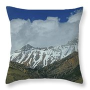 2d07509 High Peaks In Lost River Range Throw Pillow