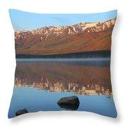 2da5931 Steens Mountain Sunrise Reflect Throw Pillow