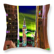 2nd Avenue Sunrise Throw Pillow