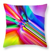 2x1 Abstract 303 Throw Pillow