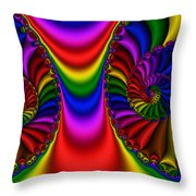 2x1 Abstract 440 Throw Pillow