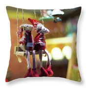 2x5e Mouse Love London  Throw Pillow