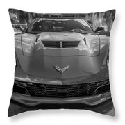 2015 Chevrolet Corvette Zo6 Painted  Throw Pillow