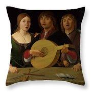 A Concert Throw Pillow
