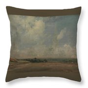 A View From Hampstead Heath Throw Pillow