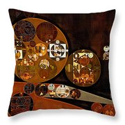 Abstract Painting - Attack Throw Pillow