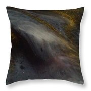Abstract Resin Pour Throw Pillow by Sonya Wilson