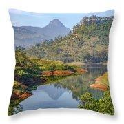 Adam's Peak - Sri Lanka Throw Pillow