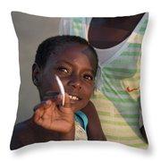 Africa's Children Throw Pillow