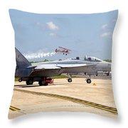 Airshow Throw Pillow