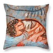 Akaweese - Tile Throw Pillow