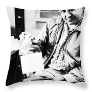 Albert Ghiorso, American Nuclear Chemist Throw Pillow