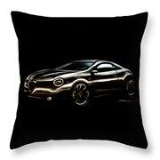 Alfa, Romeo Throw Pillow