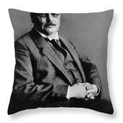 Alois Alzheimer, German Neuropathologist Throw Pillow