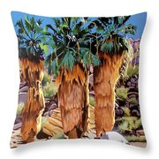 3 Amigos Throw Pillow
