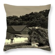 Amish Country Throw Pillow