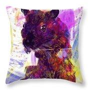 Animal Attractive Beautiful Brown  Throw Pillow