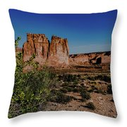Arches Park National  Throw Pillow
