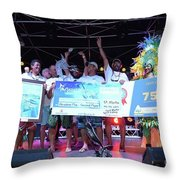 Art Trophies Throw Pillow
