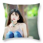 Asian Throw Pillow