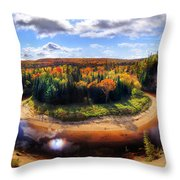 Autumn In Arrowhead Provincial Park Throw Pillow