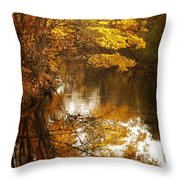 Autumn Reflected Throw Pillow