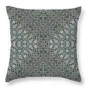 Aztec Navajo Pattern Background Throw Pillow