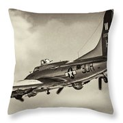 B17 Flying Fortress Throw Pillow