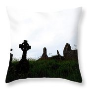 Ballingskelligs - Ireland Throw Pillow