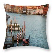 Basilica Di Santa Maria Della Salute, Venice, Italy Throw Pillow