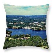 Beautiful Wisconsin Dells Throw Pillow