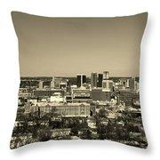 Birmingham Alabama Throw Pillow