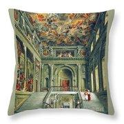 Buckingham House Throw Pillow