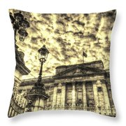 Buckingham Palace Vintage Throw Pillow