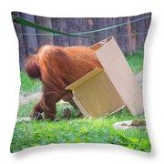 Budapest Zoo Throw Pillow
