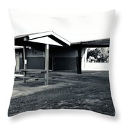 3 Bw George Washington High School Throw Pillow