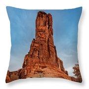 Canyon De Chelly Throw Pillow