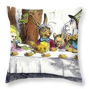 Carroll: Alice, 1865 Throw Pillow