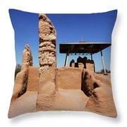 Casa Grande Ruins Throw Pillow
