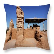 Casa Grande Ruins Throw Pillow