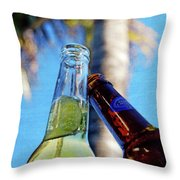 Brew Cheers Throw Pillow