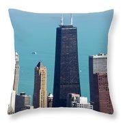 Chicago Il, Usa Throw Pillow