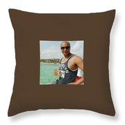 Christopher Oyolokor Throw Pillow