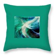 Circulation Throw Pillow